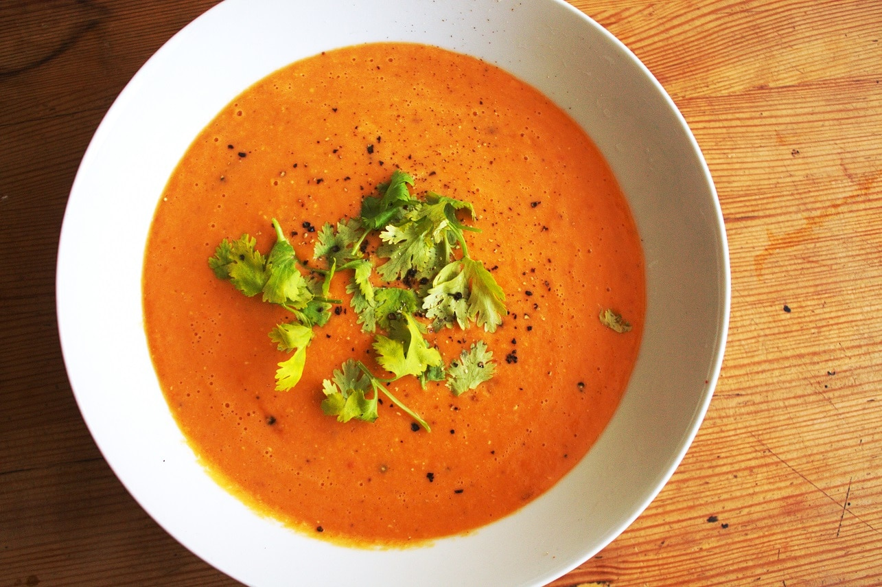 Indische Linsensuppe - Dal Suppe