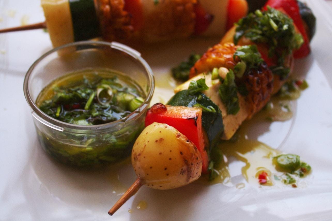 Grillspieße vegetarisch