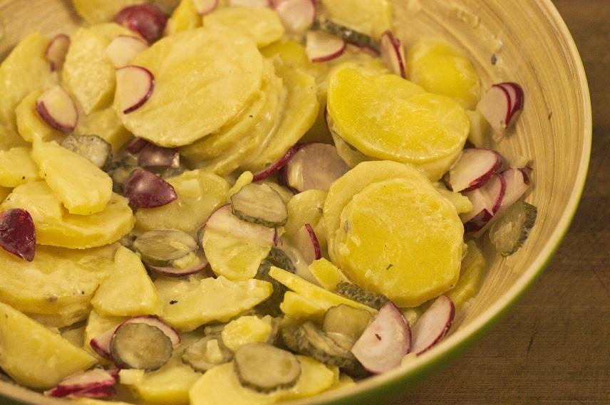 veganer kartoffelsalat mit mayo