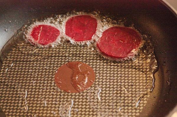 rote brete anbraten