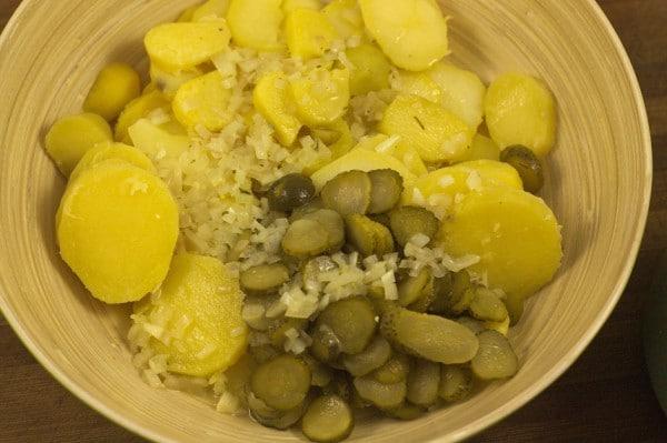 zutaten in kartoffelsalat