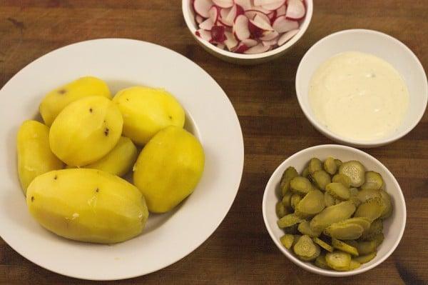 zutaten veganer kartoffelsalat