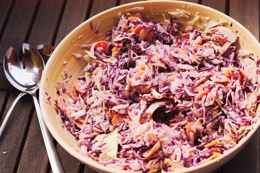 coleslaw vegan und glutenfrei