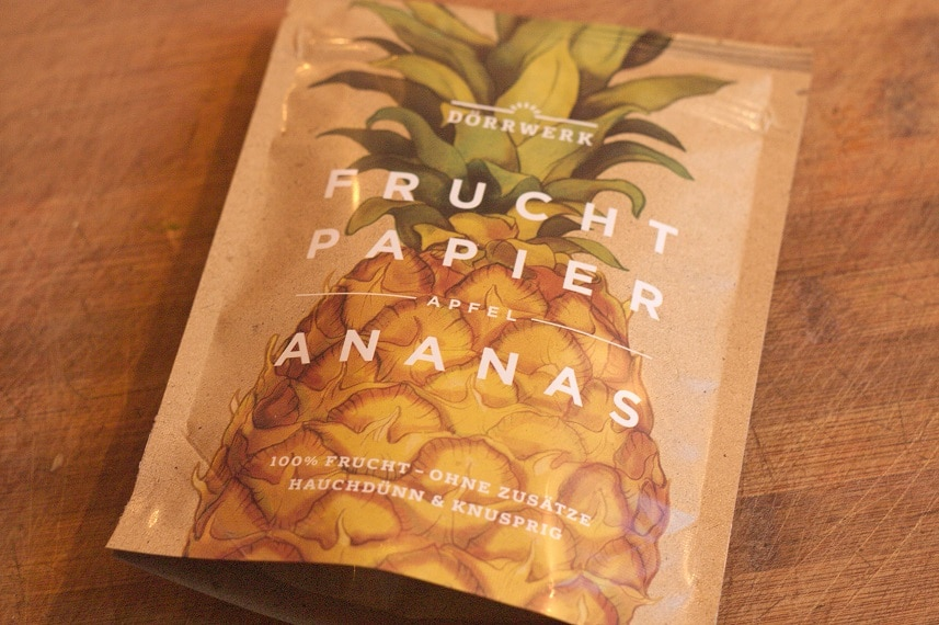 fruchtpapier ananas