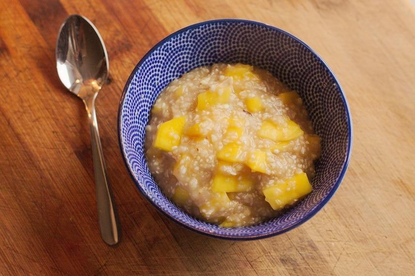 mango mit buchweizengrütze