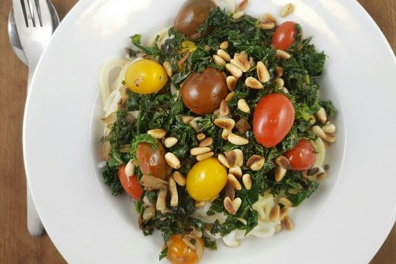 spaghetti-mit-grünkohl