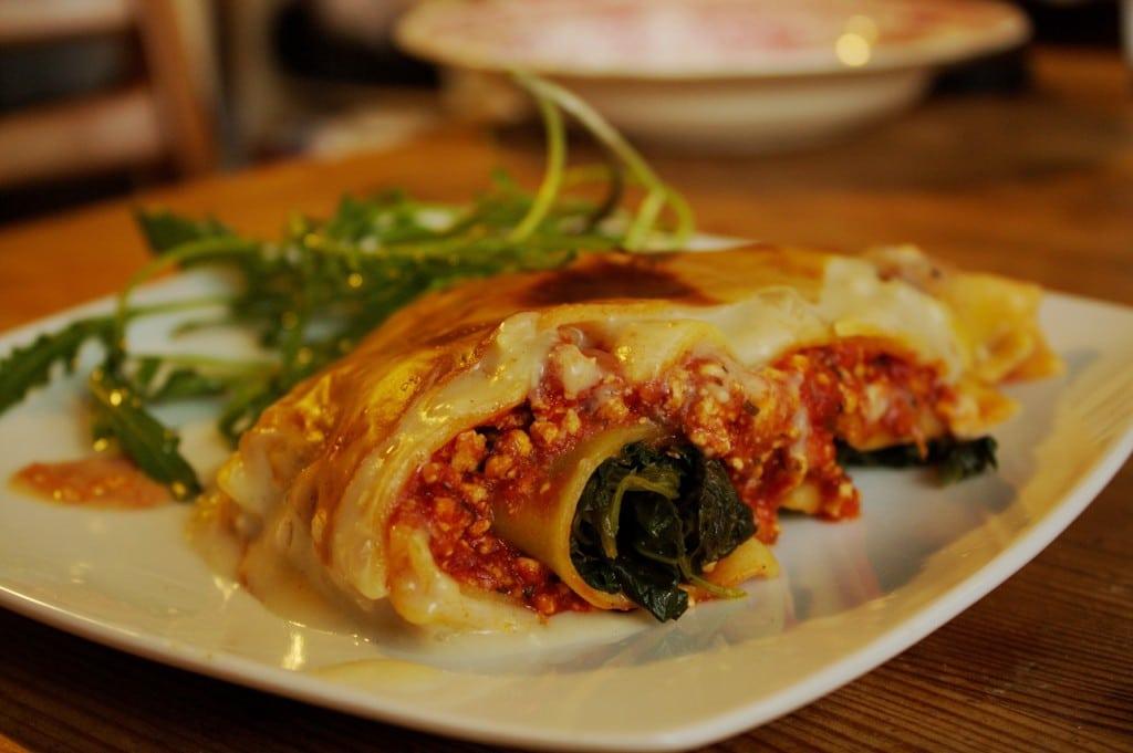 Spinat Lasagne vegan