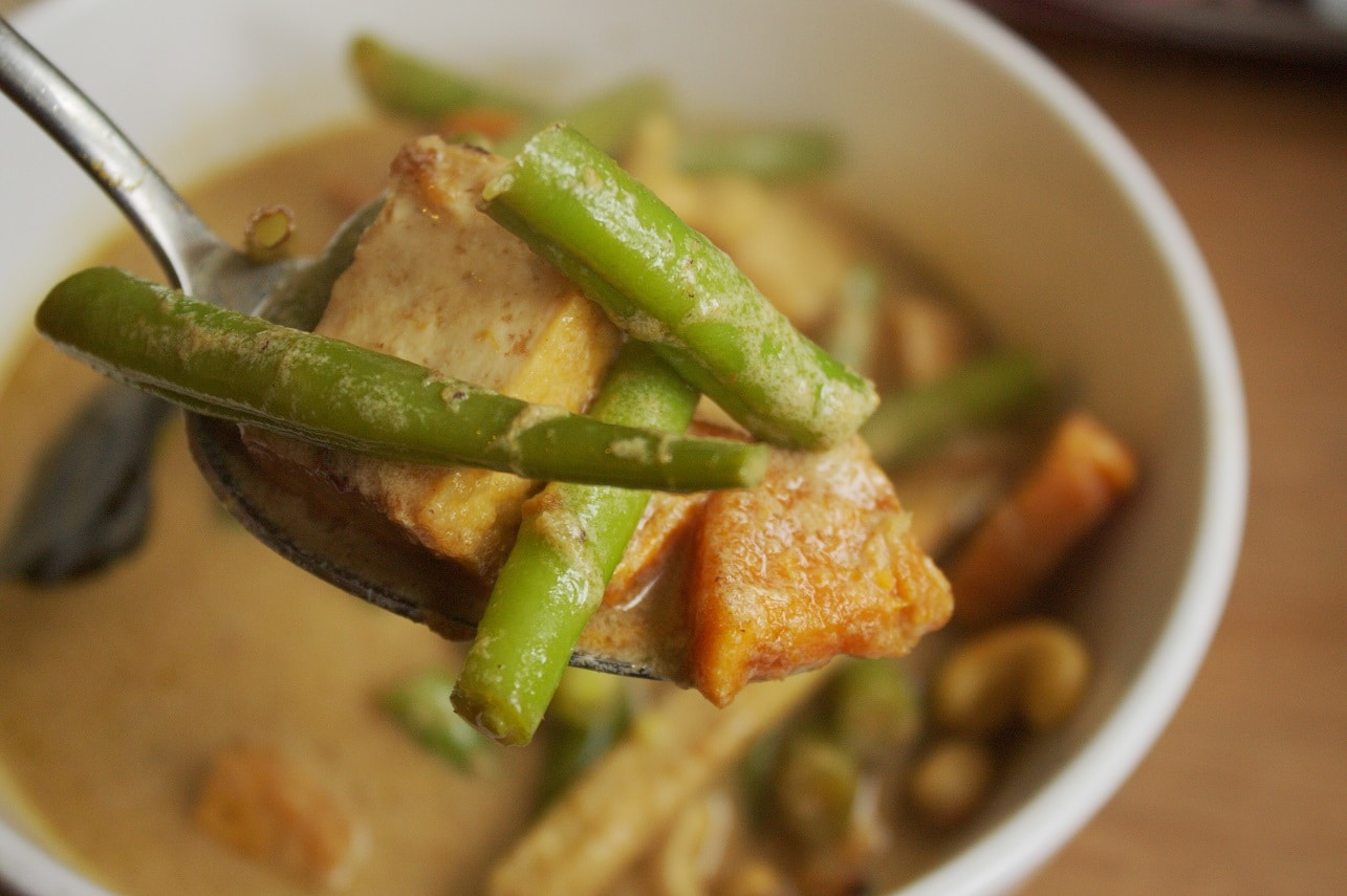 Thai Curry mit Tofu