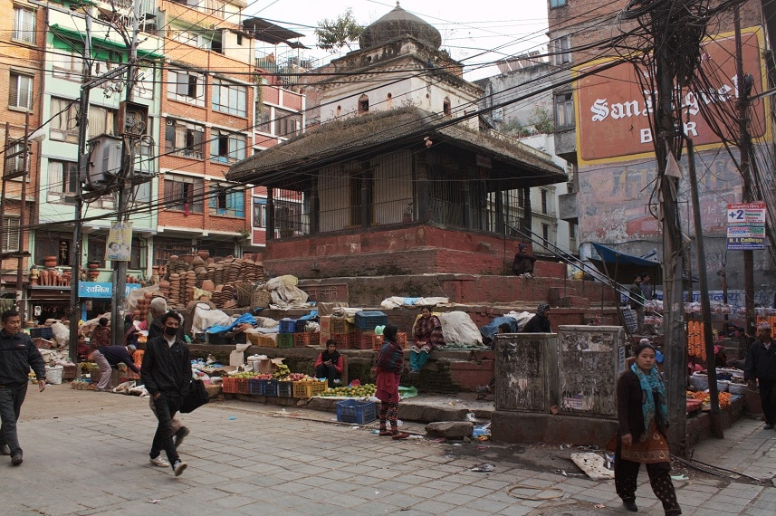 Konsum in Kathmandu