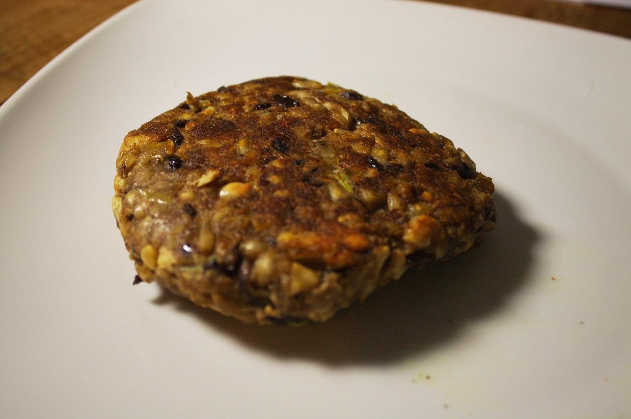Burger-Pattie-vegan
