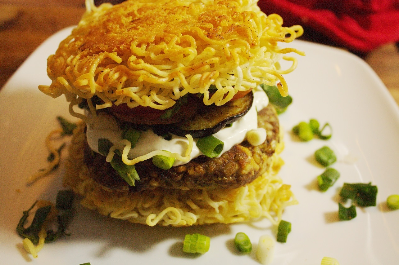 Ramen-Burger-vegan