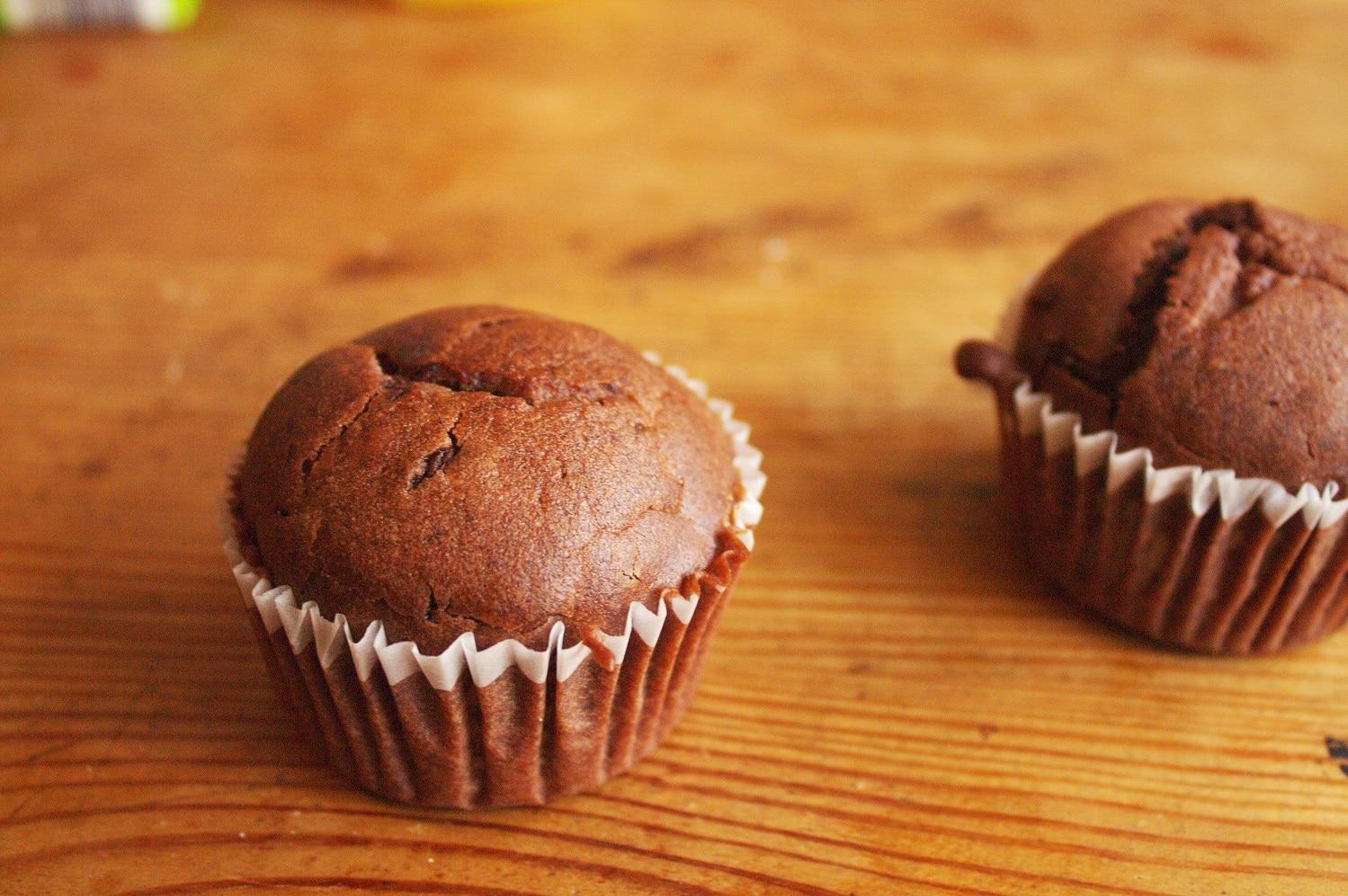 Schokoladen-Muffin vegan