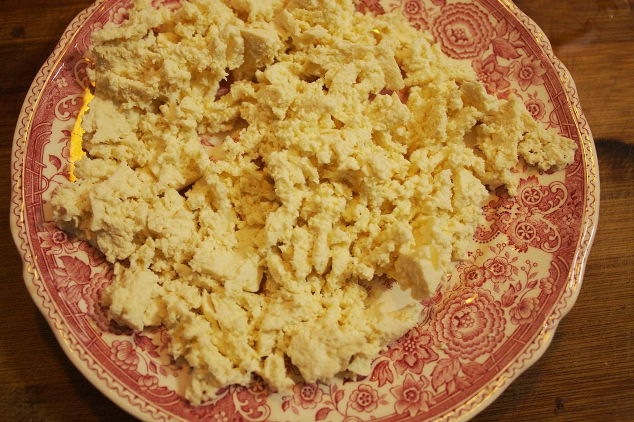 Tofu-mit-Gabel-zerdrücken