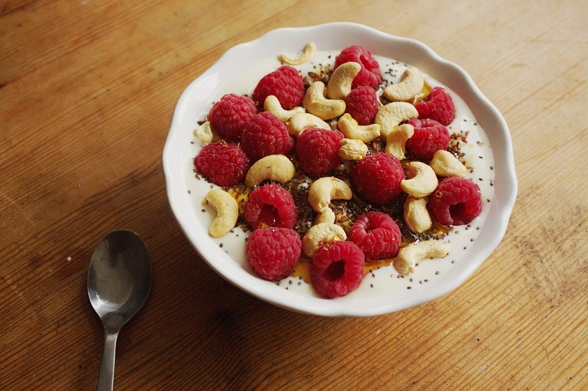 veganer Frühstücksjoghurt