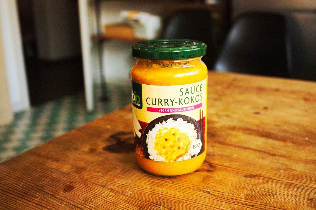 Biozentrale Curry Kokos Sauce