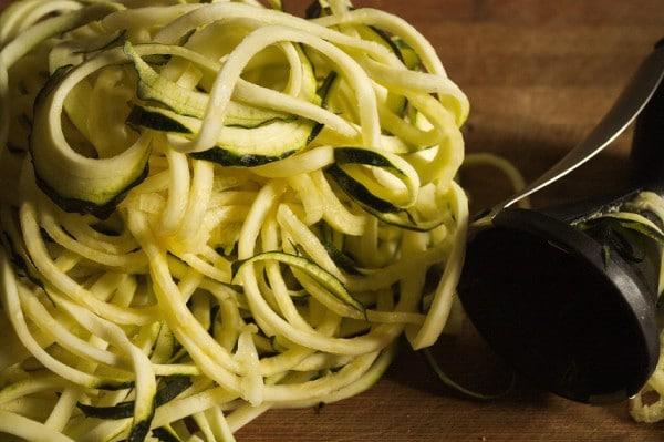zucchininudeln