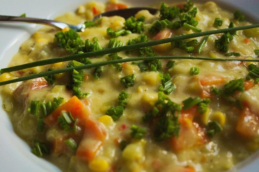 maissuppe corn chowder