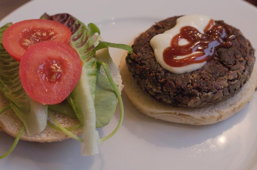 black bean burger vegan
