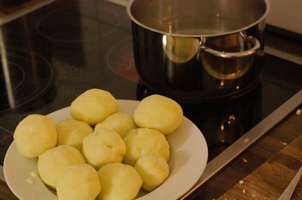kartoffelklöße garen