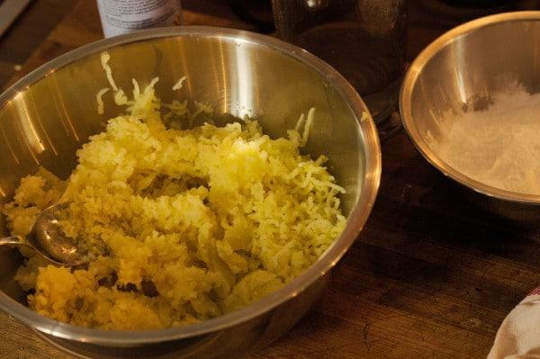 kartoffeln gepresst