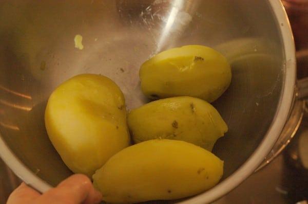 kartoffeln pellen