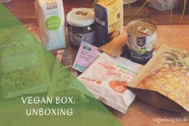 vegan box glutenfrei unboxing