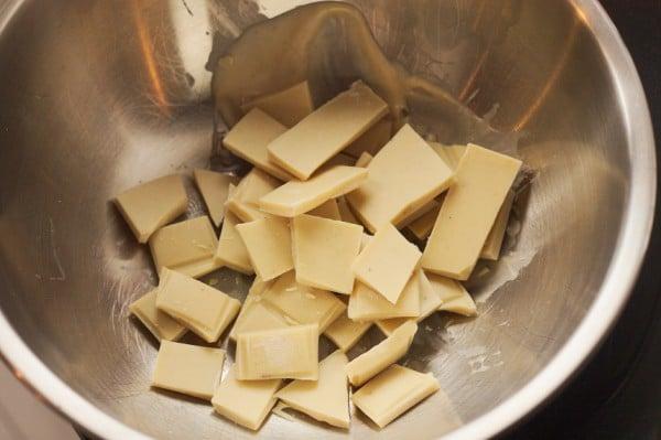 weiße schokolade schmelzen
