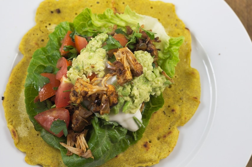 jackfruit tortilla wraps