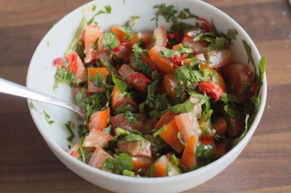 petersilien salsa