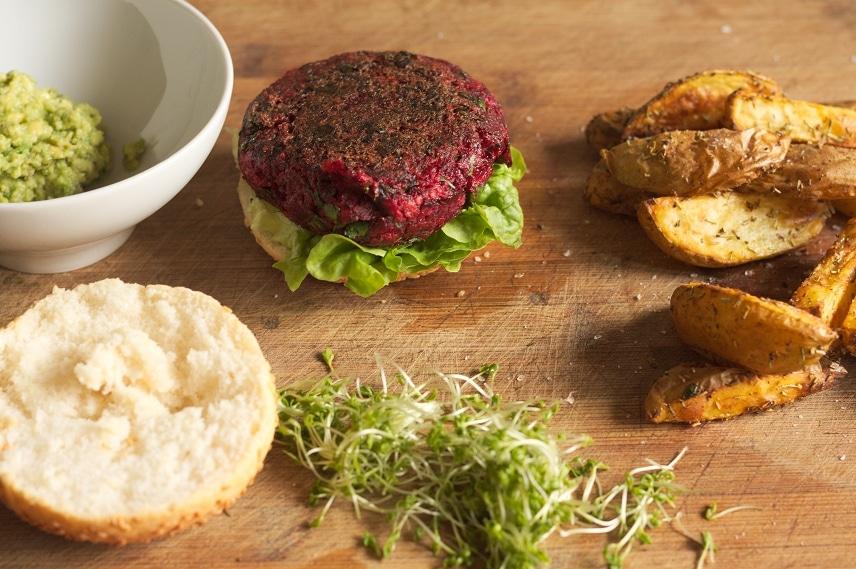 rote bete burger glutenfrei