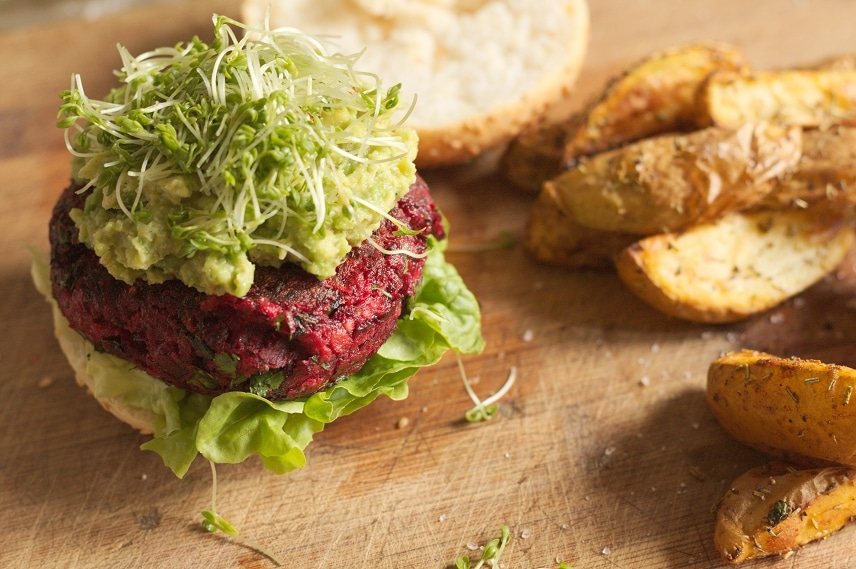 rote bete hamburger