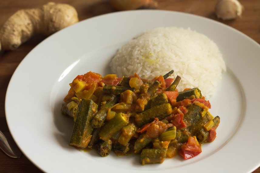 bhindi masala vegan