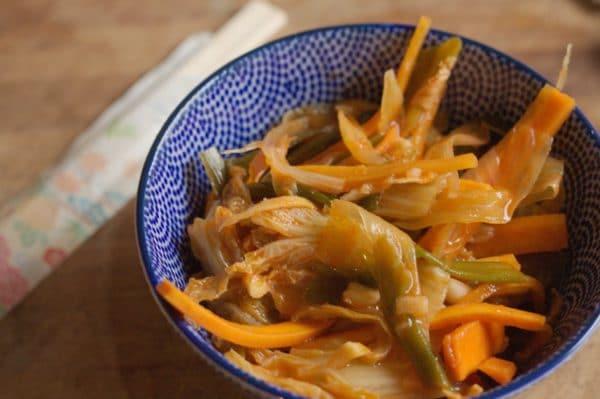 veganes kimchi selber machen