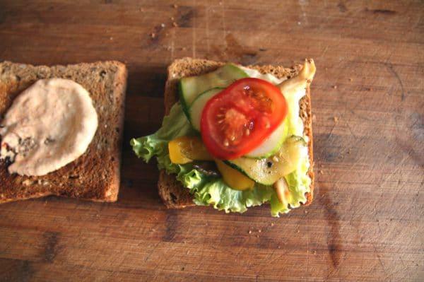club sandwich belegen