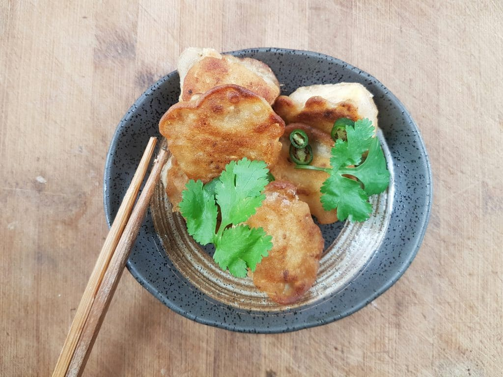 Knuspriger Tofu glutenfrei