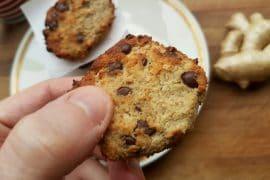 Erdmandel-Ingwer Cookies