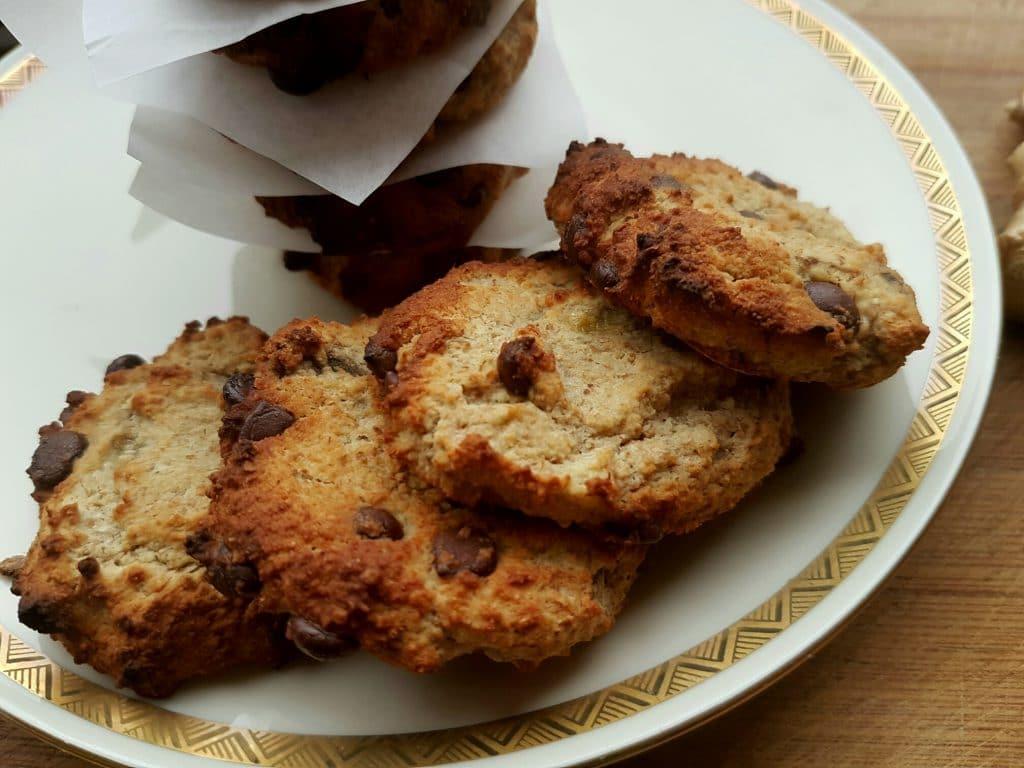 Glutenfreie Erdmandel-Ingwer Cookies