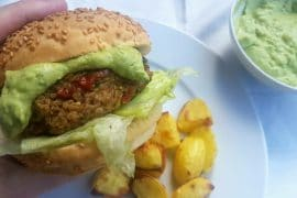 Quinoa Burger vegan