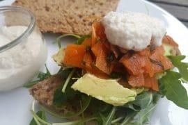 Veganer Lachs aus Möhren vegan & glutenfrei