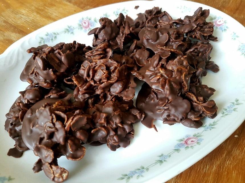 glutenfreie choco crossies selber machen