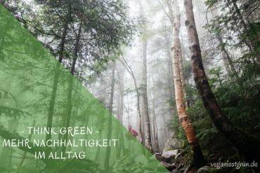 think green mehr nachhaltigkeit im Alltag