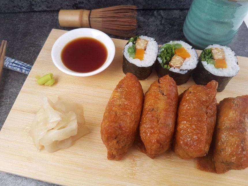 Inari Sushi vegan und glutenfrei