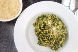 Schwarzkohl Risotto vegan & glutenfrei