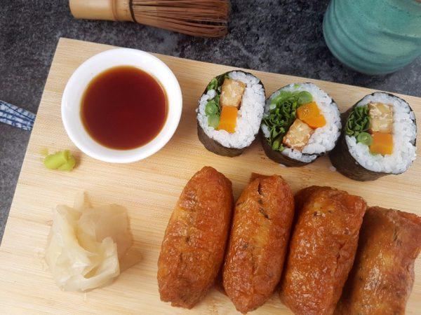 Vegane Inari Sushi