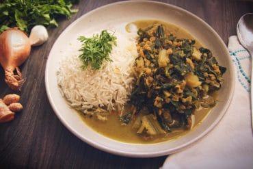 mangold-linsen-curry vegan & glutenfrei