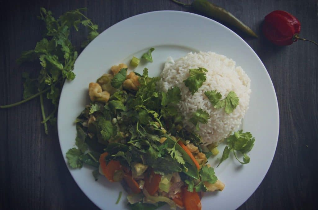 Buntes Wok-Gemüse vegan