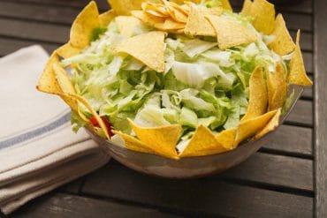 Veganer Taco-Salat