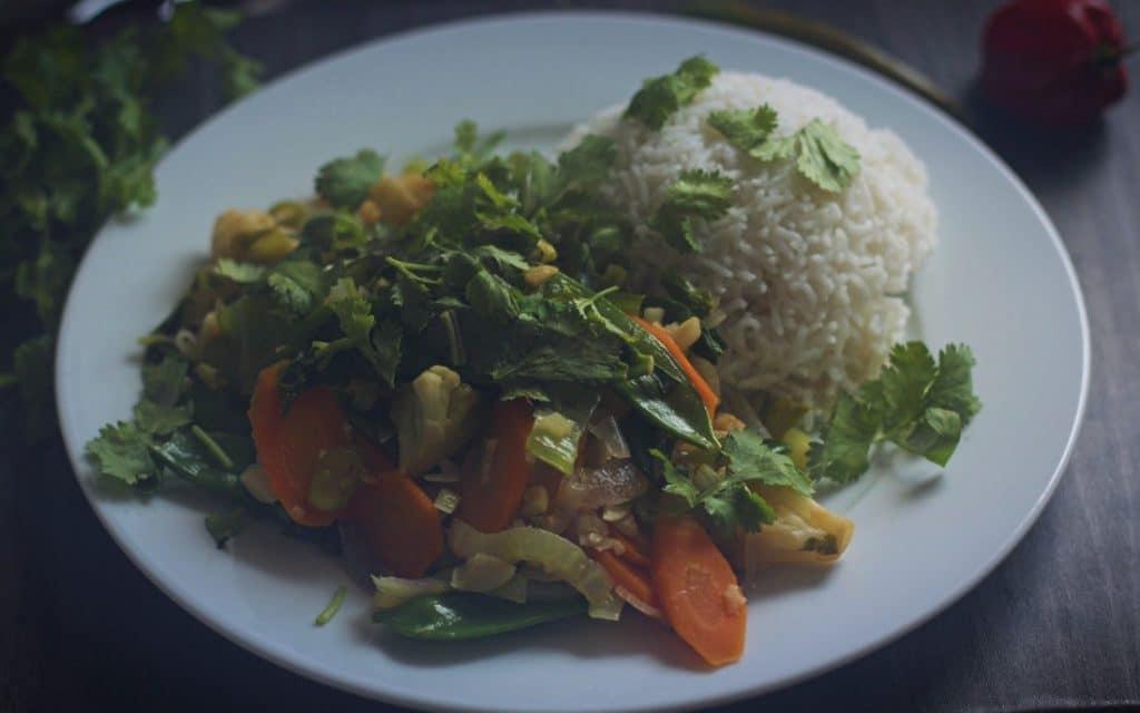 Wok-Gemüse vegan & glutenfrei