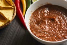 vegane Salsa Sauce glutenfrei