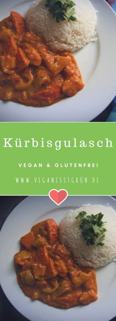 Kürbisgulasch vegan und glutenfrei Rezept